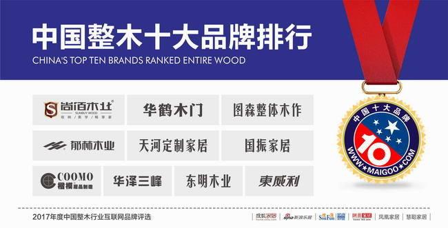 2017木门十大品牌尚佰木门